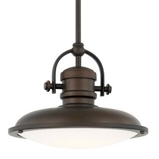 Capital Lighting Transitional 1-light Burnished Bronze LED Pendant