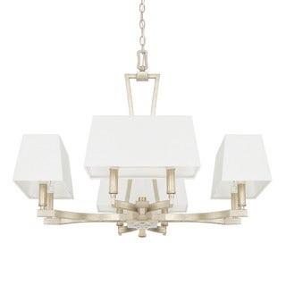 Capital Lighting Westbrook Collection 8-light Winter Gold Chandelier