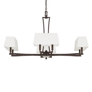 Capital Lighting Westbrook Collection 8-light Burnished Bronze Chandelier