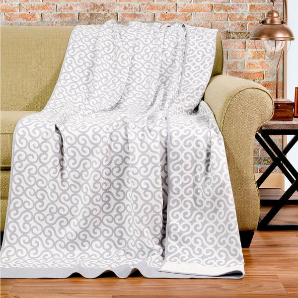 Bedford Cottage Sicily Collection Bamboo/ Polyester Throw