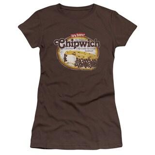 Chipwich/Distressed Chipwich Junior Sheer in Coffee
