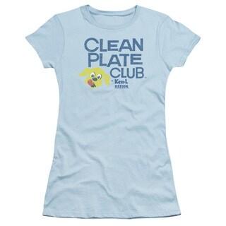 Ken L Ration/Clean Plate Junior Sheer in Light Blue