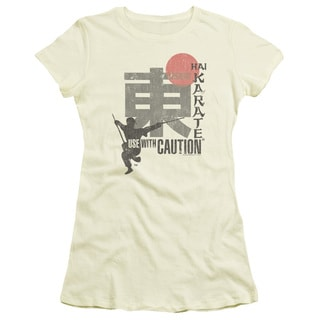 Hai Karate/Caution Junior Sheer in Cream