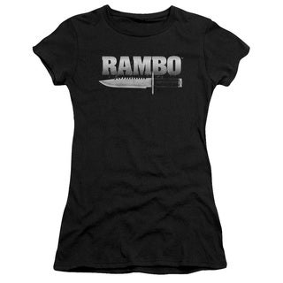 Rambo:First Blood/Knife Junior Sheer in Black