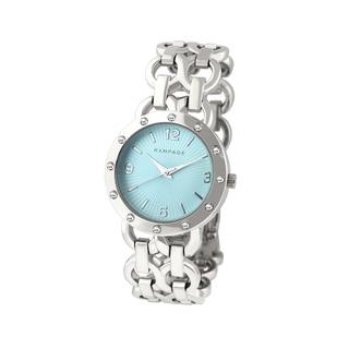 Rampage Women's RP1088SLLB Silverplated Bracelet Watch