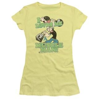 Popeye/Muscle Man Junior Sheer in Banana