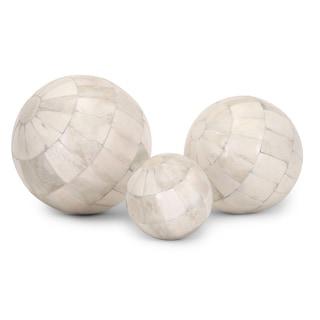 Trisha Yearwood Natural Bone Spheres - Set of 3
