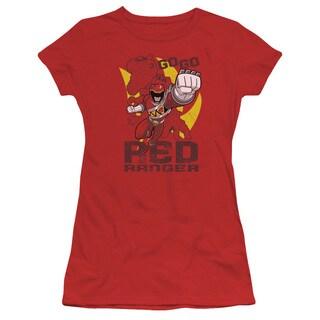 Power Rangers/Go Red Junior Sheer in Red