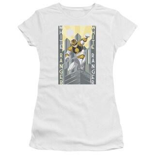 Power Rangers/White Ranger Deco Junior Sheer in White