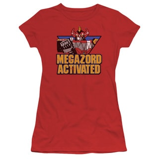 Power Rangers/Megazord Activated Junior Sheer in Red