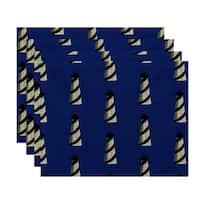 18x14-inch Beacon Geometric Print Placemat (Set of 4)