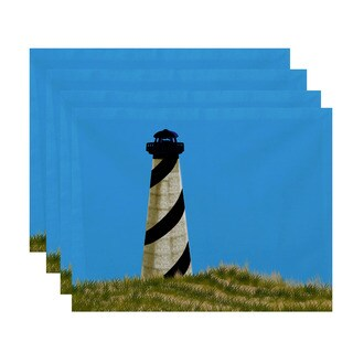 18x14-inch OuterBanks Geometric Print Placemat (Set of 4)