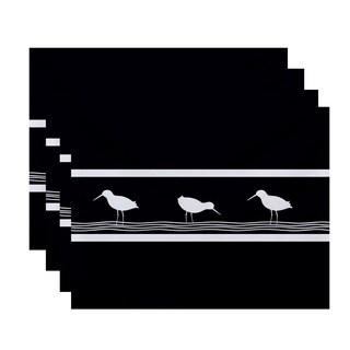 18x14-inch Birdwalk Animal Print Placemat (Set of 4)