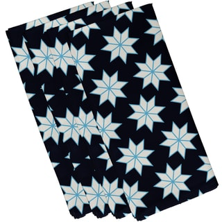 19 x 19-inch Christmas Stars 1 Geometric Print Napkin (Set of 4)