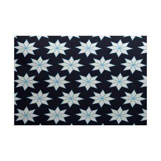 Christmas Stars 1 Geometric Print Indoor/ Outdoor Rug (2' x 3')