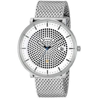 Skagen Men's SKW6278 'Hald Solar' Stainless Steel Watch https://ak1.ostkcdn.com/images/products/11926909/P18816510.jpg?impolicy=medium