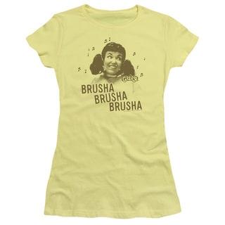 Grease/Brusha Brusha Brusha Junior Sheer in Banana