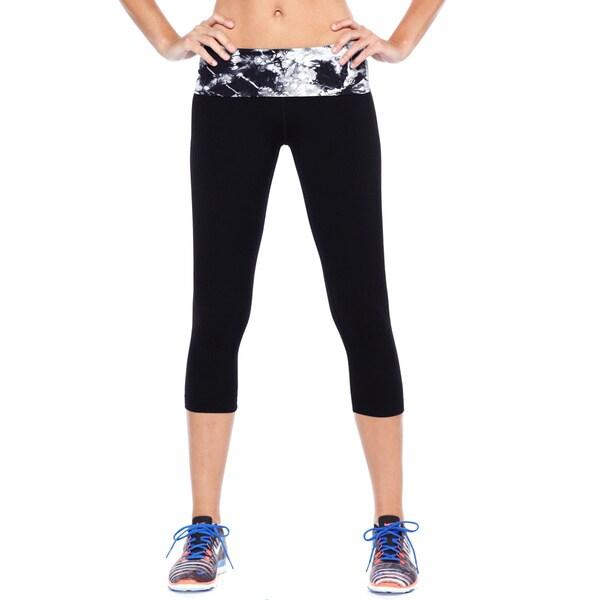 03d5cc8dc920 Shop Nikibiki Women s Activewear Nylon Spandex Tie-dye Yoga Pants ...
