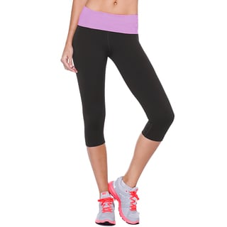 Nikibiki Activewear Women's Capri Flex-Fit Yoga Pants