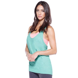 Nikibiki Activewear Women's Relaxed Racerback Sports Top