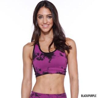 Nikibiki Activewear Women's Tie Dye Sports Bra Top