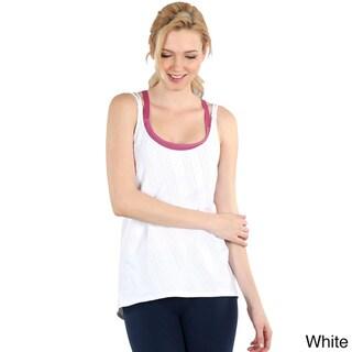 Nikibiki Activewear Women's Double Cross Relaxed Tank Top