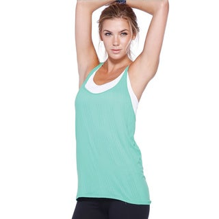 Nikibiki Activewear Women's Double Cross Relaxed Tank Top