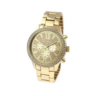 Rampage Women's RP1106GD Goldplated Bracelet Watch