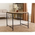 ABBYSON LIVING Kirkwood Industrial Square Table
