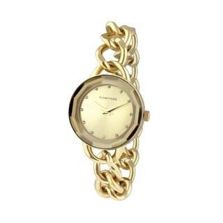 Rampage Women's RP1032GD Goldplated Bracelet Watch