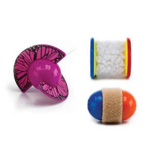 Pet Zone Rolling Toys 3-pack Cat Toys