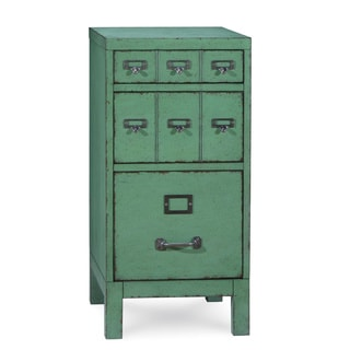 A.R.T. Furniture Epicenters Williamsburg Factory Green Wood/ Veneer Accent File Cabinet
