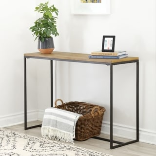 ABBYSON LIVING Kirkwood Industrial Sofa Table