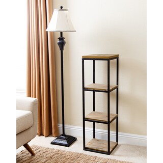 Abbyson Kirkwood Industrial 3-tier Small Bookcase