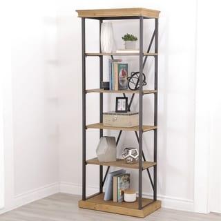 ABBYSON LIVING Dutch Industrial 5-tier Bookcase
