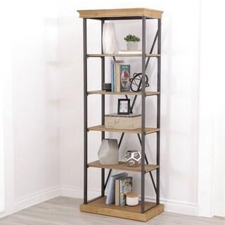 Abbyson Dutch Industrial 5-tier Bookcase