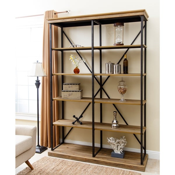 rhapsody bookcase furniture double bookcases hooker