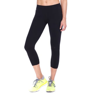 Nikibiki Activewear Women's Basic Capri Jersey Pants