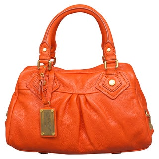 Marc by Marc Jacobs Classic Q Baby Groovee Spiced Orange Satchel Handbag
