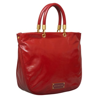 Marc by Marc Jacobs Too Hot to Handle Cabernet Red Mini Shopper Tote Bag