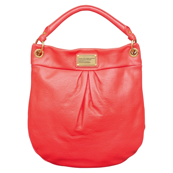 fdcd0935ab8 Shop Marc by Marc Jacobs Classic Q Hillier Infra Red Hobo Handbag - Free  Shipping Today - Overstock - 11928630