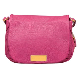 Marc by Marc Jacobs Washed Up Nash Hot Fuchsia Crossbody Handbag