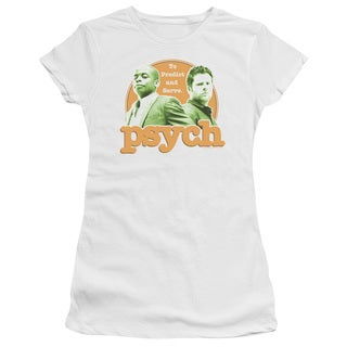 Psych/Predictable Junior Sheer in White