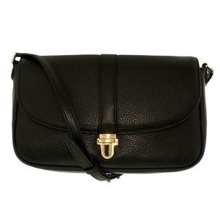 Michael Kors Charlton Black Large Crossbody Handbag