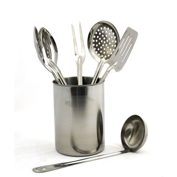 Rainbow Elite Collection Stainless Steel 7-piece Professional Quality  Kitchen Utensil Set from Nature Home Decor
