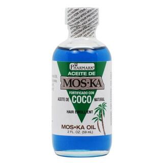 Aceite de Moska Fortificado Con Coco 2-ounce Hair Oil