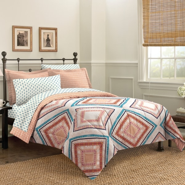 Haight Ashbury 7-piece Bed in a Bag with Sheet Set