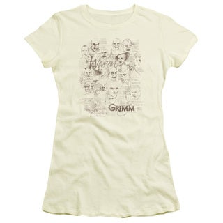 Grimm/Wesen Sketches Junior Sheer in Cream