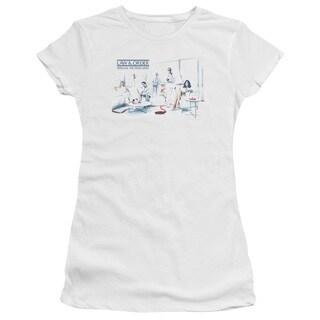 Law & Order SVU/Dominos Junior Sheer in White