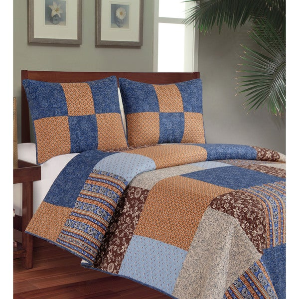 Bridget Patchwork Quilt (Shams Not Included)